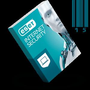 لایسنس 15 کاربره یک ساله ESET INTERNET SECURITY 13 اورجینال