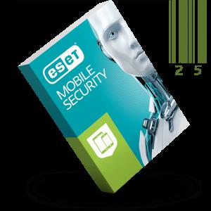 لایسنس بیست و پنج کاربره دو ساله ESET MOBILE SECURITY اورجینال
